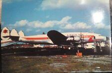 VINTAGE POSTCARD Lockheed C_12 B_LO   ( Argo S.a ) Miami 1980