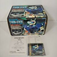 Sega Saturn Controller Twin Stick Controller Working Virtual On boxed VERY GOOD!