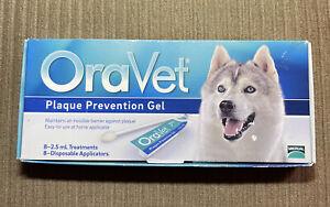 OraVet Pet Plaque Prevention Gel - 8 Count Treatments 2.5 mL Per Treatment