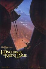 THE HUNCHBACK OF NOTRE DAME original adv 27x40 D/S movie poster
