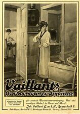 Vaillant's Gas-Heisswasser-Apparate Remscheid Lager Berlin Markenwerb.von 1914