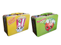 Shopkins Metal Tin Series-3 | 5 Booster Pack Cards Rainbow LE and Toy! KRYPTX