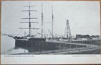 Antioch, CA 1910 Postcard: Water Front Scene - California Cal