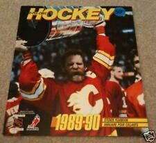 1989 O-Pee-Chee NHL Hockey Sticker Unused Album Lanny McDonald Stanley Cup Cover