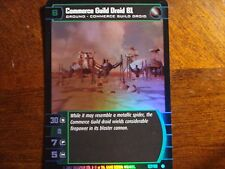 Star Wars TCG AOTC Commerce Guild Droid 81 FOIL