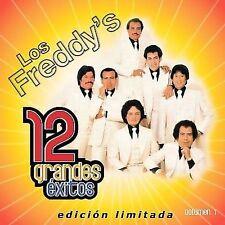 Los Freddys : 12 Grandes Exitos 1 CD
