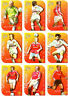 1999 Futera Fans Collection Cutting Edge EMBOSSED Team Set Manchester United (9)