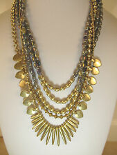 Lucky BRAND Jewelry JLRY4512 Abalone Multi-layer Necklace 20 Ines