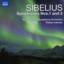 Pietari Inkinen - Symphonies 1 & 3 [New CD]
