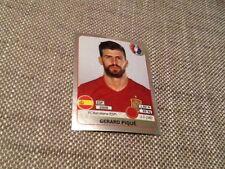 #356 Gerard Pique Spain Panini Euro 2016 SWISS STAR EDITION sticker Barcelona