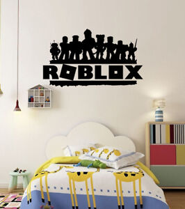 Rob Lox Characters Silhouette Vinyl Wall Stickers Gaming room Gamers Decals RB2