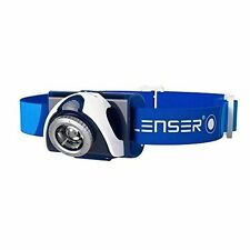 LED Lenser SEO 7r Blue Headlamp 220 Lumens
