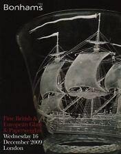 BELLE British & European Vetro & vetro fermacarte CATALOGO D'ASTA