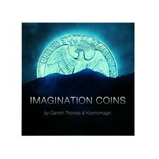 Imagination Coins UK Version - Amazing Coins Across Magic Trick - DVD & Gimmick