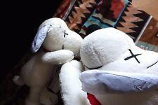 UNIQLO × JOE KAWS × PEANUTS SNOOPY Plush S&M size set of 2 With Pretty Scarf !!