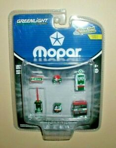 CHASE GREENLIGHT MOPAR PARTS & SERVICE SHOP TOOL ACCESSORIES 6 PC 1/64 16040 B