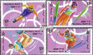 Mongolia 2762-2765 unmounted mint / never hinged 1998 Olympics Winter Games ´98
