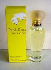 NINA RICCI L'AIR DU TEMPS EDT SPRAY for WOMEN -1.6 oz -48 ml -FRANCE---ORIG. BOX