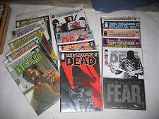Walking Dead 14 15 19 21 22 23 24 25 28 32 33 34 39 40 41 100 SDCC Lot of 16