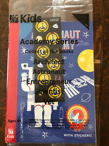 Chick-Fil-A Kids Astronaut Academy Space Book Booklet Usborne Stickers Careers