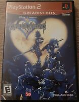 Kingdom Hearts Greatest Hits Sony PlayStation 2 PS2 Complete CIB Tested