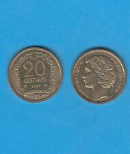 Concours de la  20 Centimes 1961 en Cupro-Aluminium Nickel  Essai de Robert