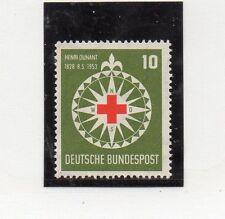 Alemania Federal Cruz Roja serie del año 1953 (CR-340)