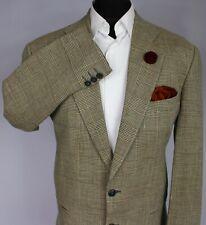 Armani Jacket Blazer Summer Brown Designer 40R EXCEPTIONAL ITEM 3198