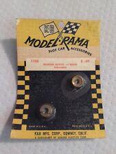 Nos Slot Car K&B Model Rama Pit Stop 1105 Bearing Blocks - Brass Ajustable