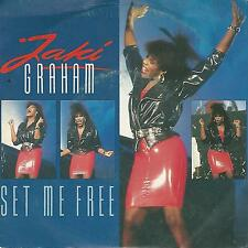 "JAKI GRAHAM ""SET ME FREE / STOP THE WORLD"" 7"" MADE IN ITALY"
