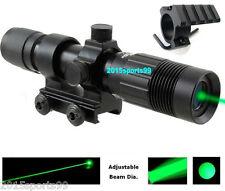 Green Laser Designator Illuminator Hunting Flashlight Weaver Mount Night Vision