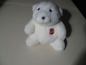 """7"""" plush Coca Cola Coke Polar Bear, good condition"""