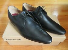 MERC REGENT BLACK LEATHER DERBY SHOE US 10.5 UK 10