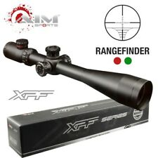AIM SPORTS 10-40X50 DUAL-ILLUMINATED w/ SIDE PARALLAX + LEFT TURRETS LONG SCOPE