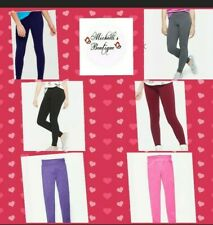 Justice Girls. Full Length Classic Leggings.  Sizes from 6 to 20 Plus.