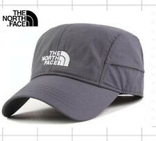 THE NORTH FACE® Baseball Cap Light Weight Logo Hat Grey Curved Peak Adjustable