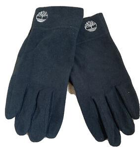 Men's Timberland Fleece Gloves Size L/XL Black Touch Screen BNWT