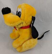 "Disney Pluto Dog Plush 7"" Vintage Stuffed Animal"