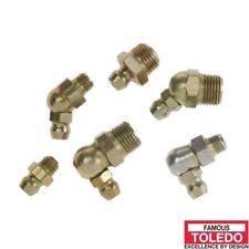"TOLEDO Grease Nipple Steel - Button Head Fitting Taper Thread 3/8"" X 18 NPTF (20"