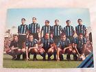 CARTOLINA CALCIO SQUADRA INTER F.C. INTERNAZIONALE 1966/1967 SCUDETTO E STELLA