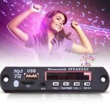 Bluetooth Car LED MP3 Decoder Board Audio Module FM Radio MMC USB TF w/ Remote