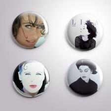 4 LISA STANSFIELD -  Pinbacks Badge Button 25mm 1''