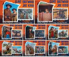 85dd020b58e JOE KIDD Italian fotobusta movie posters x8 CLINT EASTWOOD WESTERN 1972 NM