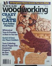 Scrollsaw Woodworking & Crafts Spring 2017 Crazy For Cats Toys FREE SHIPPING sb
