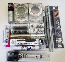 Hard Candy Eye Lip Nail SILVER BLACK GRAY Shades Makeup Lot of 14 Different Pcs