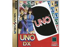 ## SEGA SATURN - Uno DX + Spinecard (JAP / JP) - NEUWERTIG #