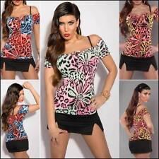 Women's Clubwear Floral Blouses