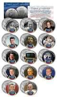 PERSON OF THE YEAR Colorized JFK Half Dollar 14-Coin Set Gandhi Churchill Putin