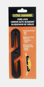 Bayco Kord Manager Extension CORD LOCK Keeps Cords Plugged In Place Safely K-205