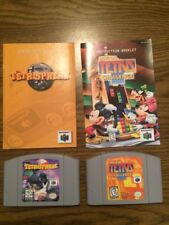 Magical Tetris Challenge & Tetrisphere (Nintendo 64) Two Game carts with Manuals